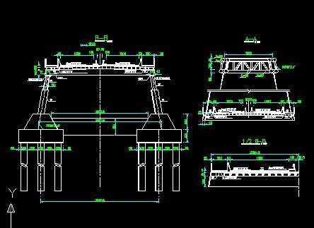 235米跨拱桥施工图纸免费下载 - 桥梁图纸 - 土木工程