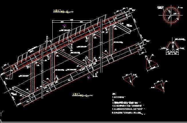 中承式钢管混凝土系杆拱桥施工图免费下载 桥梁图纸