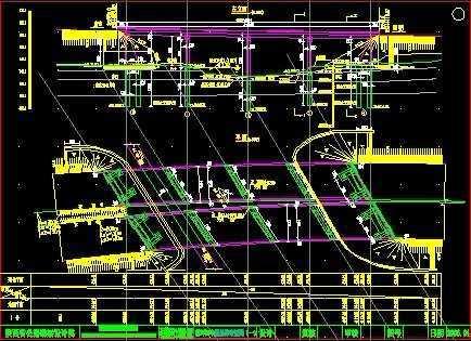 高速公路桥施工图纸