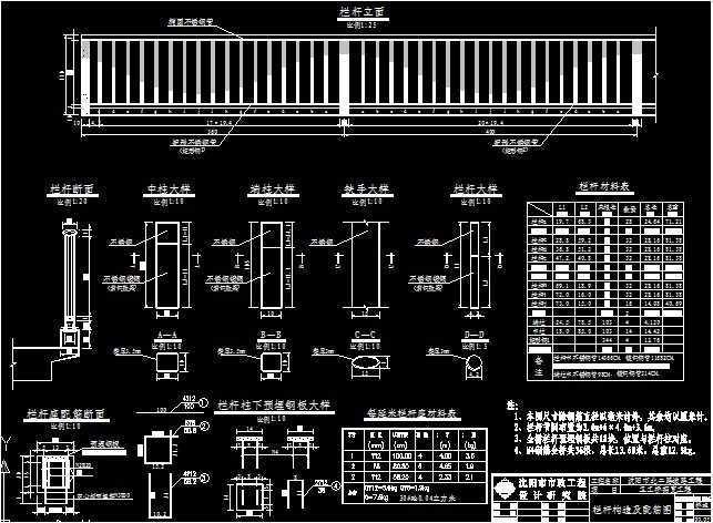 卡巴斯基免费版_栏杆图集免费下载 - 桥梁图纸 - 土木工程网