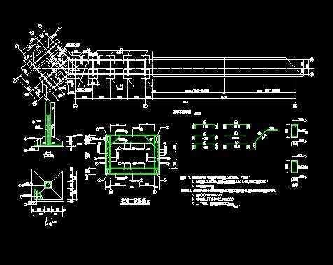 工业建筑论文栈桥v论文图纸大学生暗道毕业设计图片