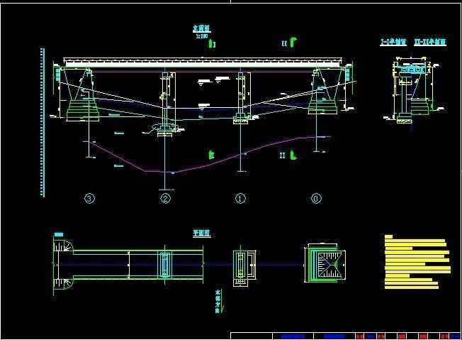 16米电杆t梁桥方案设计弯矩大跨度图纸图纸图片