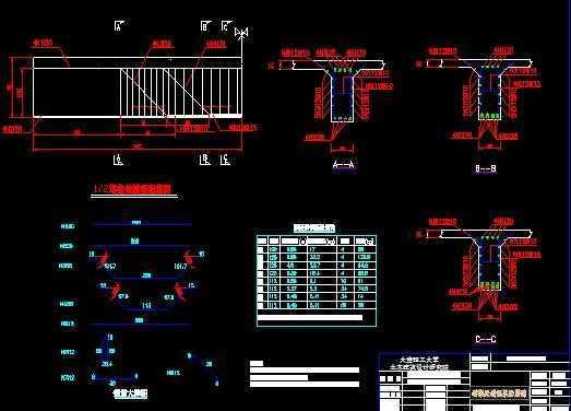 吊桥设计图纸免费下载