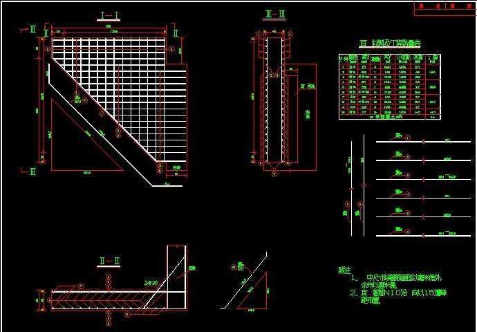 轻型桥台设计图纸