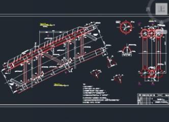 中承式钢管混凝土系杆拱桥施工图纸免费下载 桥梁图纸