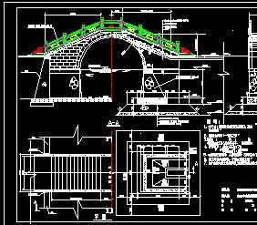 全套古典拱桥结构设计图纸免费下载 桥梁图纸