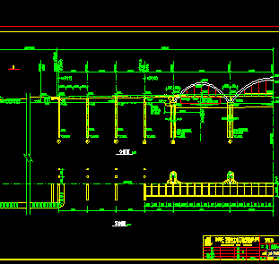 鉴湖大桥设计图纸免费下载