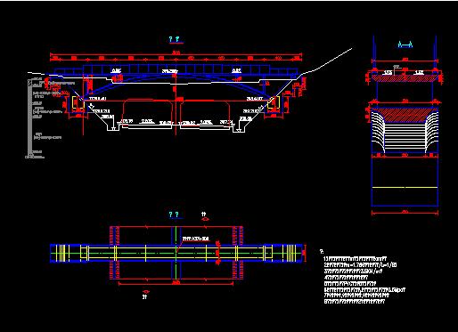 1-40米人行桥全套施工图纸