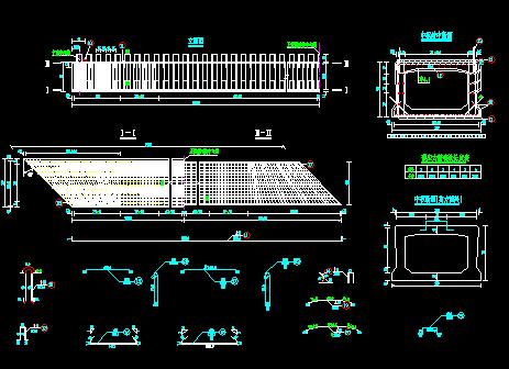 20米空心板桥梁通用图