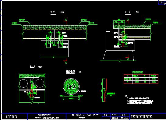 装配式空心板桥梁施工图纸