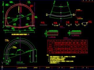 连拱图纸泵体(CAD竣工图)免费下载-其它图纸柱塞泵隧道图纸图片