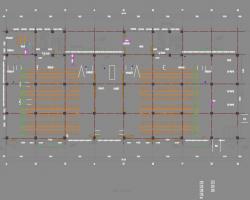 四层厂房项目建筑施工图纸(含给排水、电气暖通图)