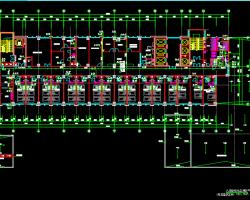 二十五层住院综合楼给排水施工图纸