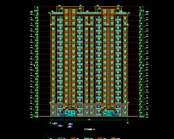 多层住宅楼工程全套施工图纸(含建筑、水电暖)