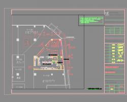 餐厅电气施工图纸