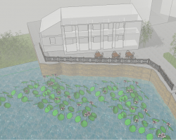 小型庭院景观设计SketchUp模型