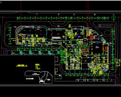 五星级酒店及综合办公楼电气施工图纸