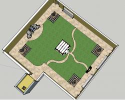 庭院景观SketchUp模型