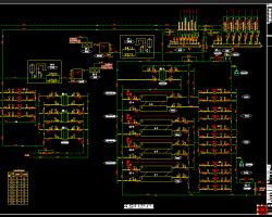 空调冷热源系统原理图