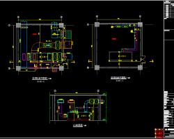 高层综合楼空调机房CAD详图