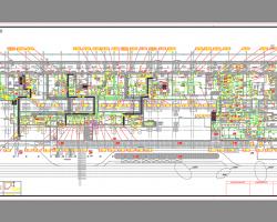 剧场及配套商业餐饮机电施工图纸