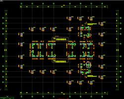 53层超限超高层框筒结构办公楼结构施工图纸
