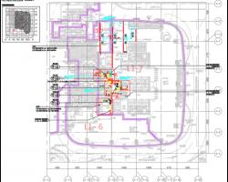 两栋办公楼暖通空调及综合机电协调工程招标图纸(第一部分)