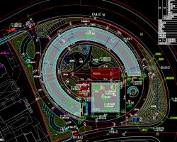 综合服务中心全套施工图纸(含建筑结构水电暖)