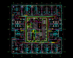 某商业综合体电气施工图纸