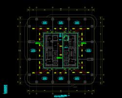 某综合体机电施工图纸(清单 水电暖)