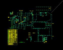 四十六层钢筋混凝土框架核心筒结构酒店及办公楼全套施工图纸(建筑结构水电暖)