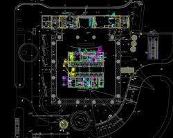 超高层综合楼给排水消防系统设计图纸(含PDF格式)