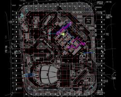 超高层办公、剧场给排水消防设计图纸(含PDF格式)