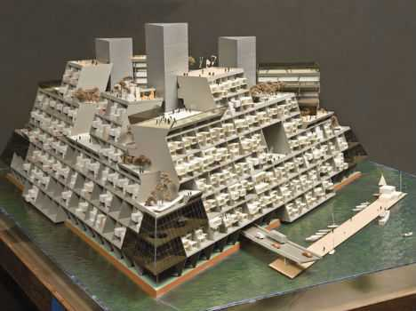 日本清水金字塔城市 如果你对未来建筑概念感兴趣的