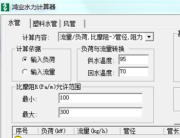 阻力计算软件