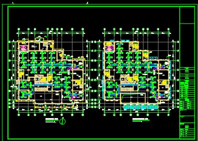 某六层办公楼空调设计图纸