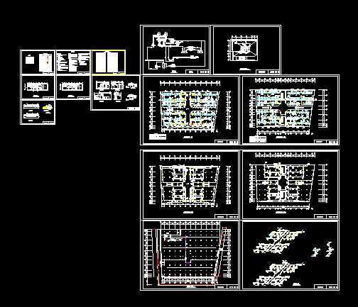 商场中央空调全图(吊顶式空调器版)