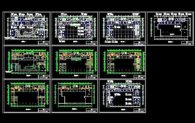 办公楼空调平面设计图免费下载