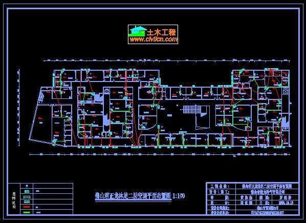 ktv中央空调设计图免费下载 - 暖通图纸 - 土木工程网