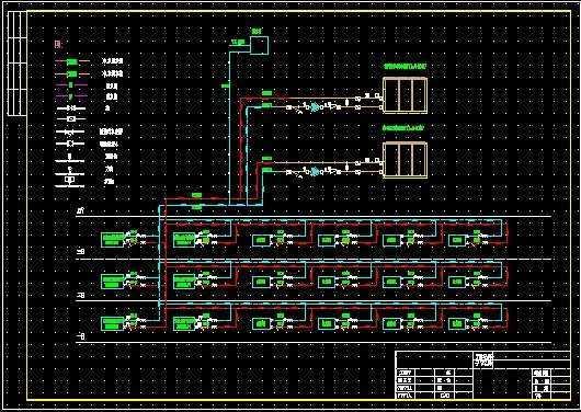 空调机及室内机连接图