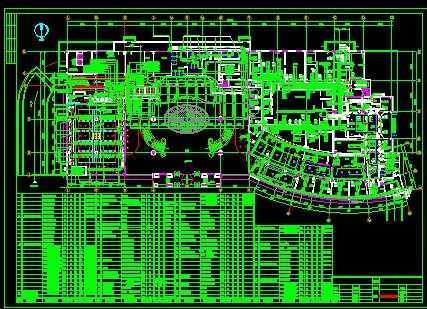 酒店空调平面设计图