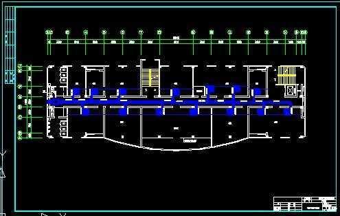 某办公楼四层空调风系统设计免费下载二层洋房设计图片