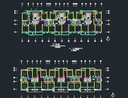 某多层住宅楼给排水系统设计图