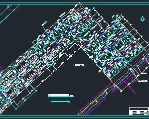 某小区室外水暖管道系统图图片