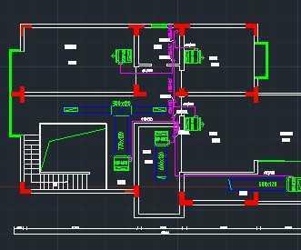 某别墅小区中央空调系统施工图