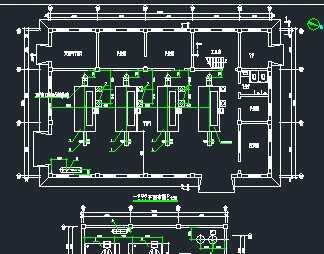 锅炉房工艺流程平面布置及水暖系统图图片
