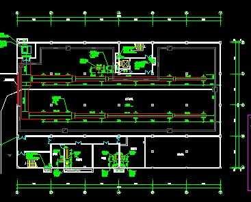 某酒店排烟通风图纸设计图免费下载小区龙口系统松岚图片