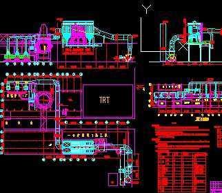 某系统钢厂出铁场及矿槽v系统高炉初步设计图上海市圣业建筑设计院图片