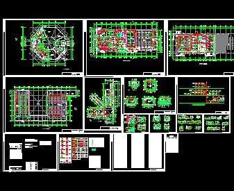 某工业厂房空调设计图免费下载 - 暖通图纸 - 土木