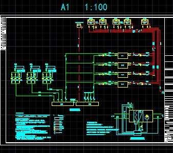 空调空气处理机组及水系统控制原理图